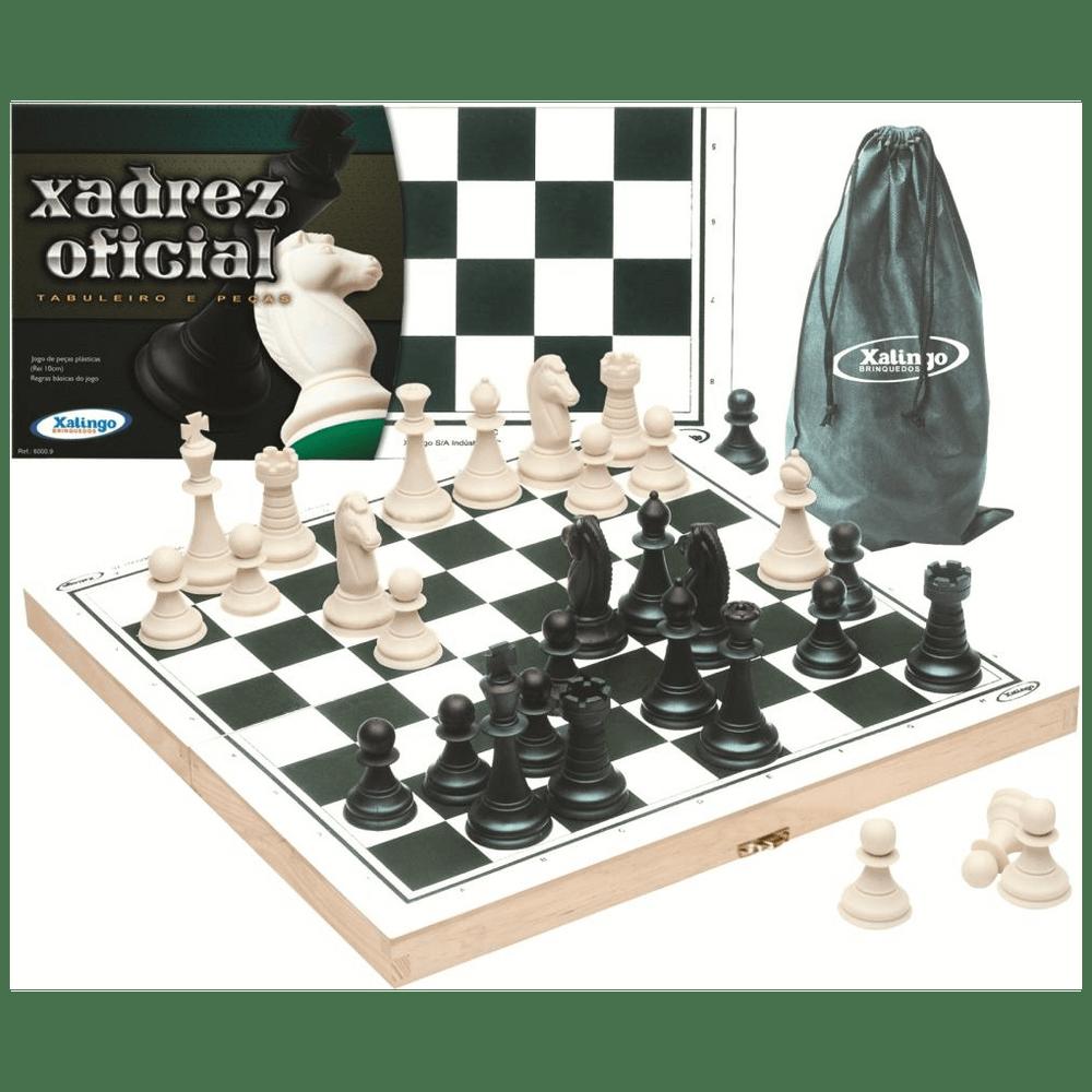 Jogo de Xadrez Oficial - Xalingo - MP Brinquedos 9cb3f0da2aef0
