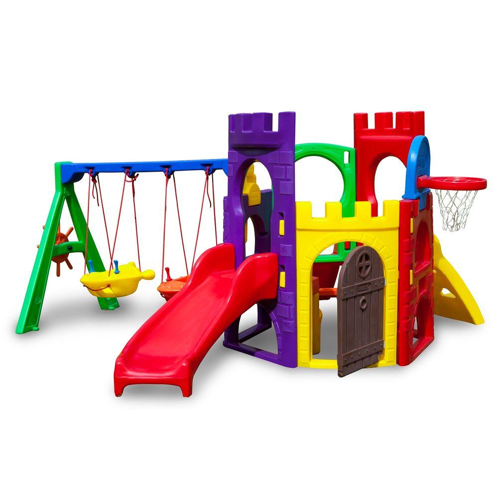 c606f158b76 Playground Petit Play com Balanço Freso - MP Brinquedos