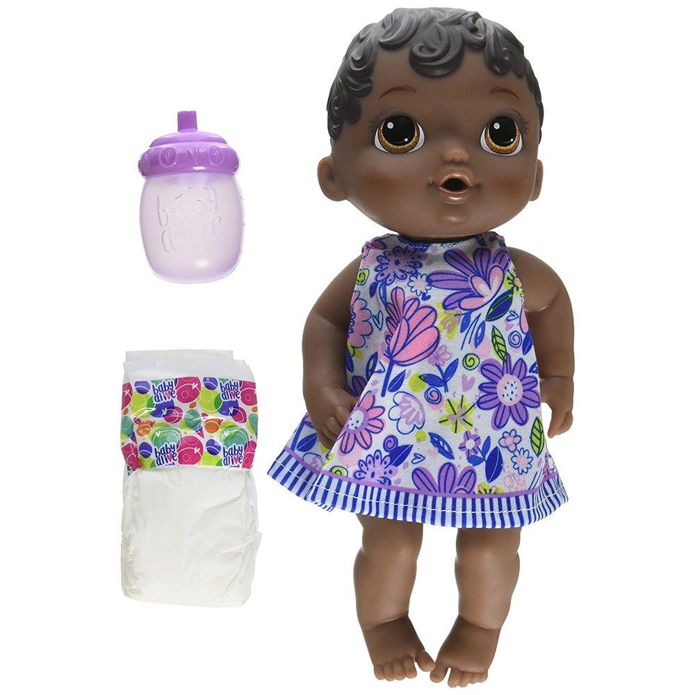 14d48d2718 Boneca Baby Alive - Hora do Xixi Negra - MP Brinquedos