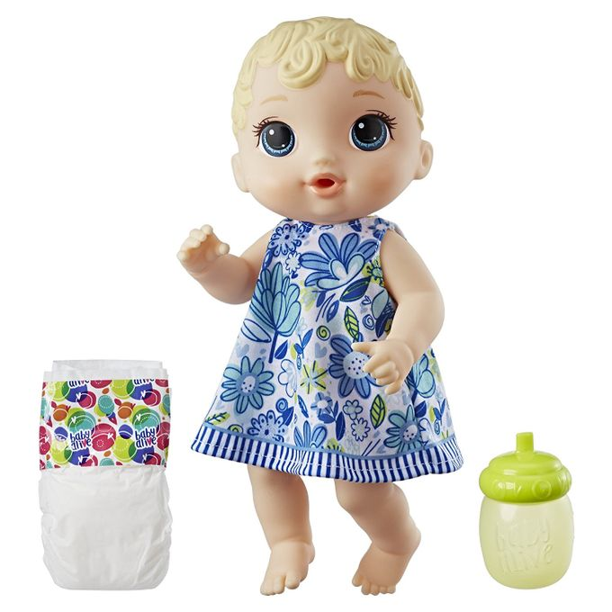 Boneca Baby Alive - Hora do Xixi Loira...