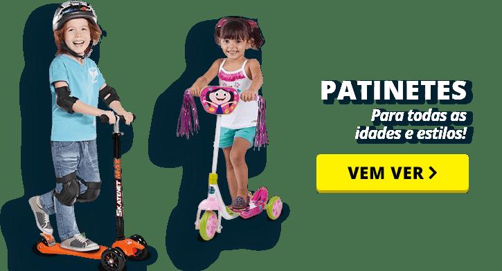 Vamos Brincar - Patinete