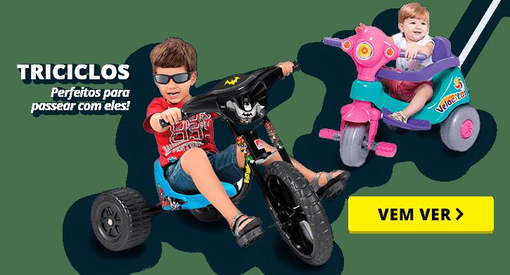 Vamos Brincar - Triciclo