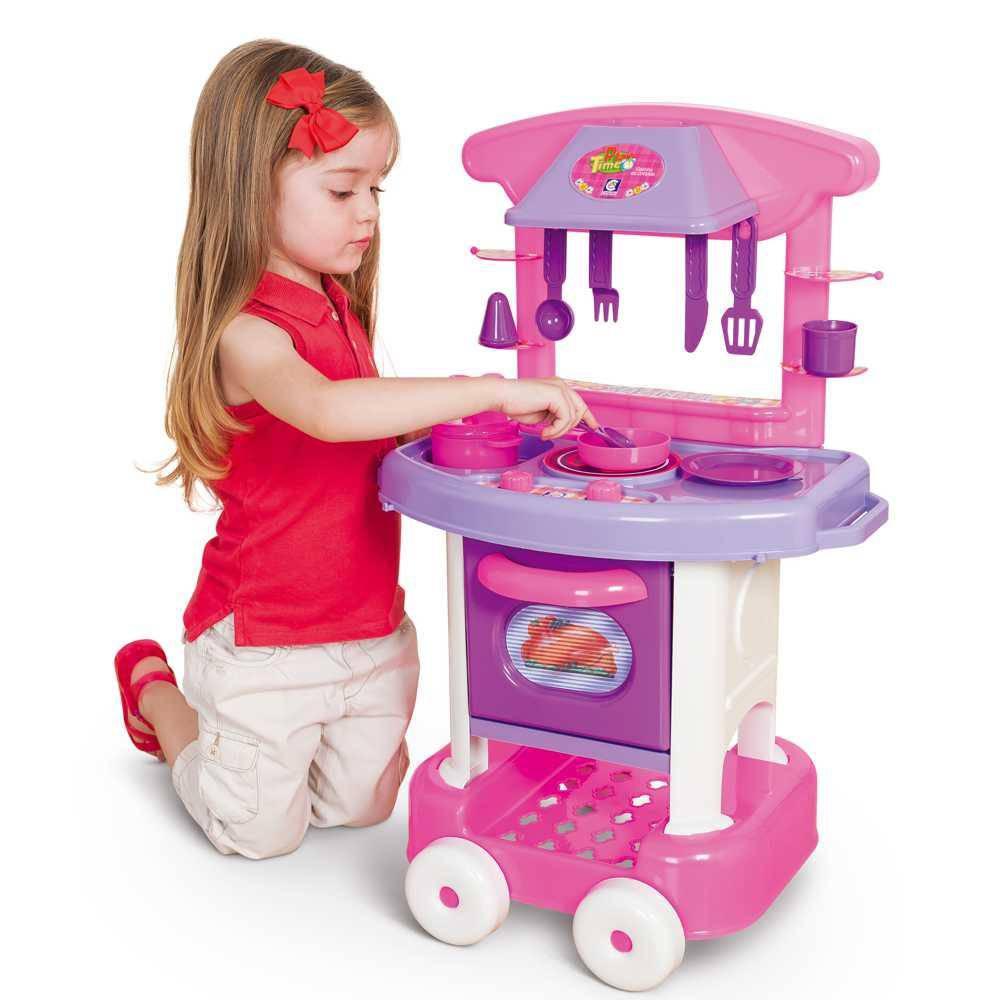 Cozinha Infantil Play Time Cotipl S Mp Brinquedos ~ Mercado Livre Cozinha Infantil