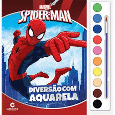 livro-aquarela-homem-aranha-conteudo