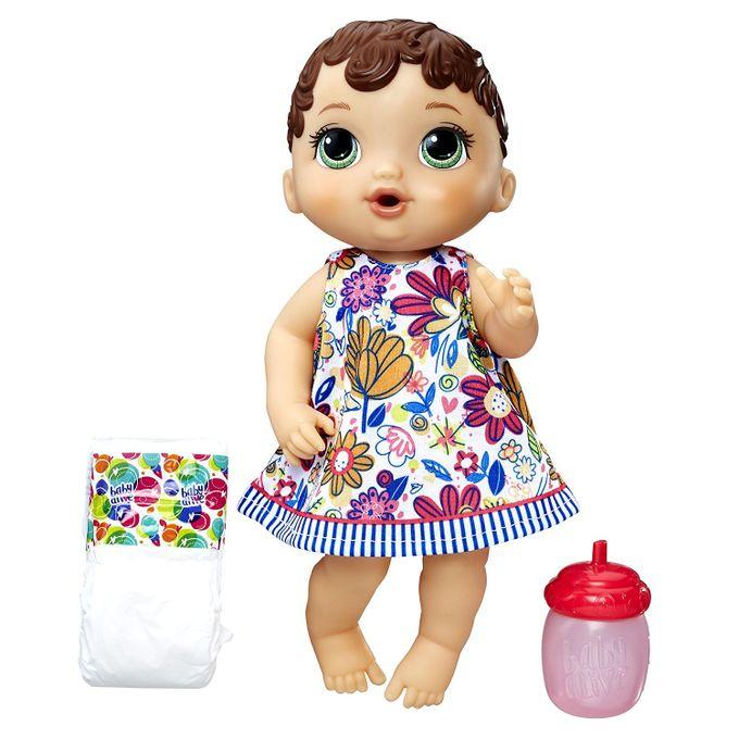 Boneca Baby Alive - Hora do Xixi Moren...