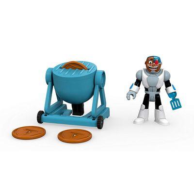 imaginext-teen-titans-cyborg-conteudo
