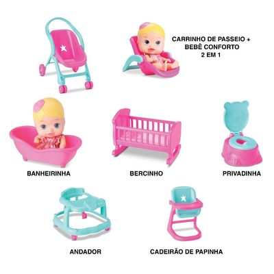 little-dolls-casinha-divertoys-conteudo