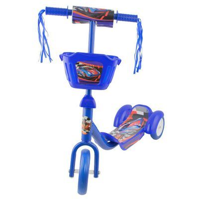 patinete-3-rodas-cesto-azul-conteudo