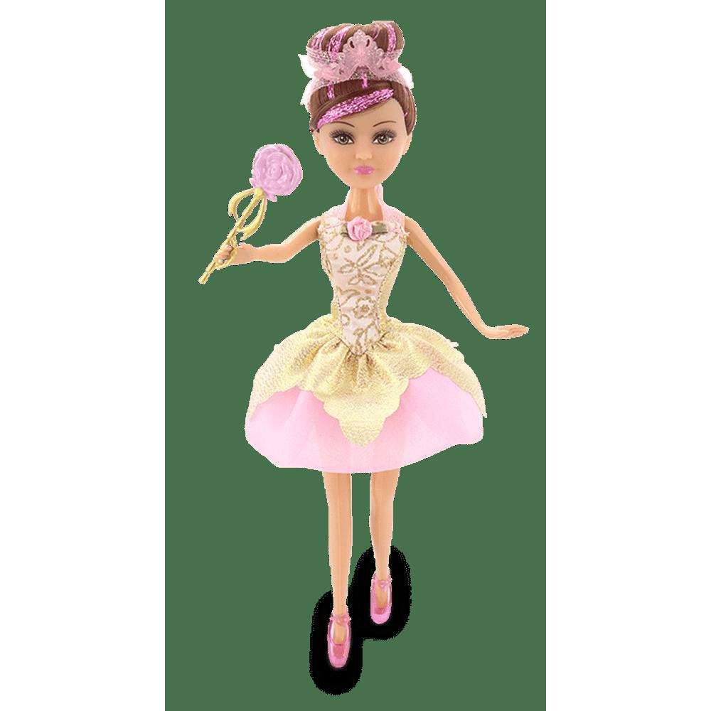 b8de727dd4 Sparkle Girlz - Boneca Bailarina com Acessórios - Clara - MP Brinquedos