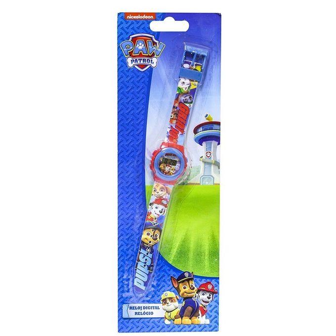 c0090f66e30 Relógio Digital Patrulha Canina Azul - Dtc - MP Brinquedos