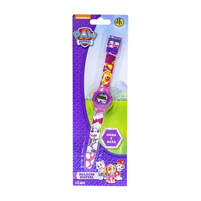 4f7d4a1349a Relógio Digital Patrulha Canina Rosa - Dtc - MP Brinquedos
