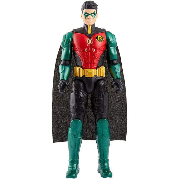 Boneco Robin - Batman Missions - Liga da Justiça 30cm Fvm71 - MP ... b9776757c7c