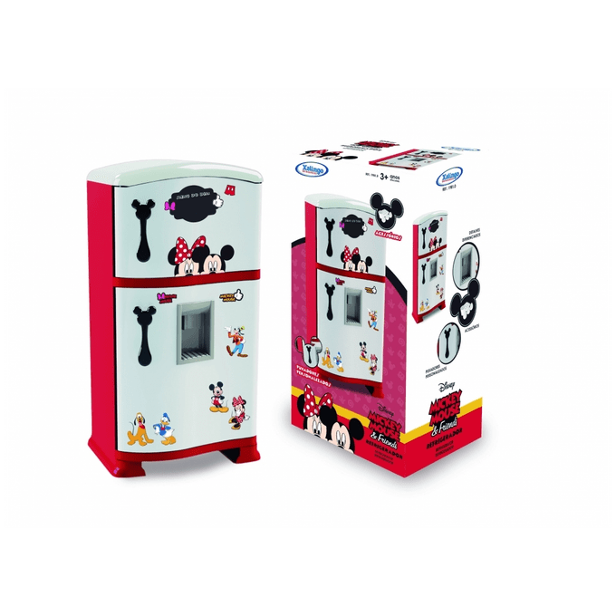 Geladeira Infantil Refrigerador Mickey Disney - Xalingo - XALINGO