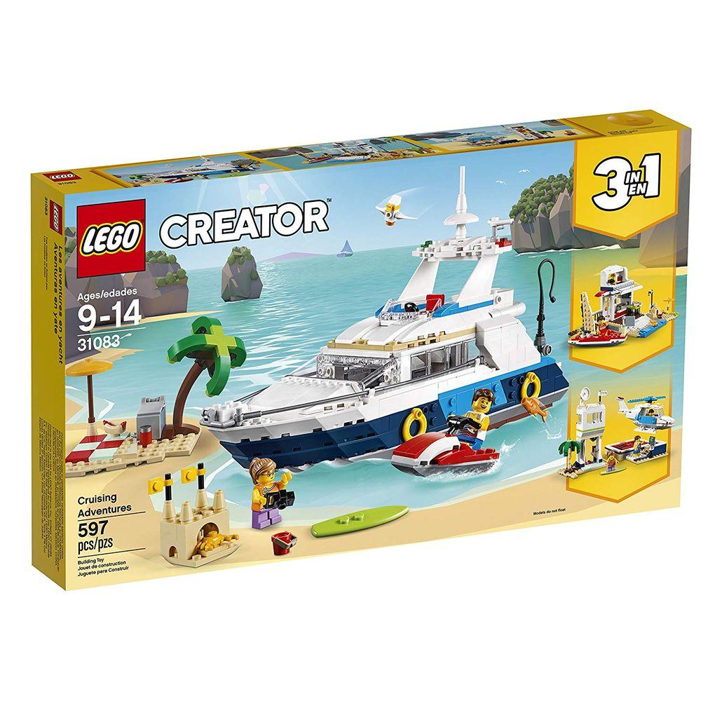 824af95e58efb 31083 Lego Creator - Aventuras No Cruzeiro - MP Brinquedos