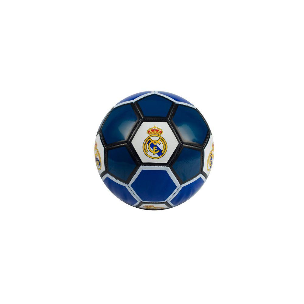 4a4dac07a3 Bola de Futebol Real Madri Oficial - Azul preta - MP Brinquedos