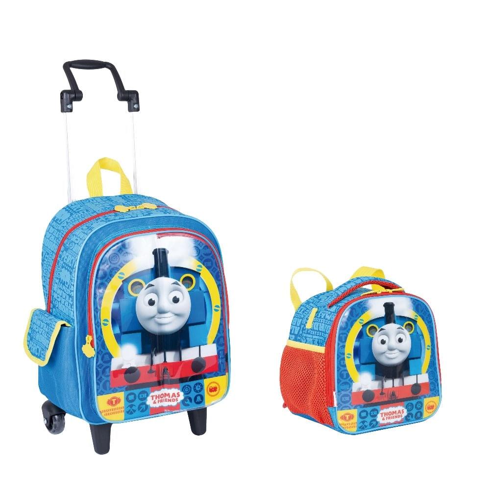 f745d1a0f MP Brinquedos · Escolar · Mochilas. kit-mochila-e-lancheira-thomas-conteudo