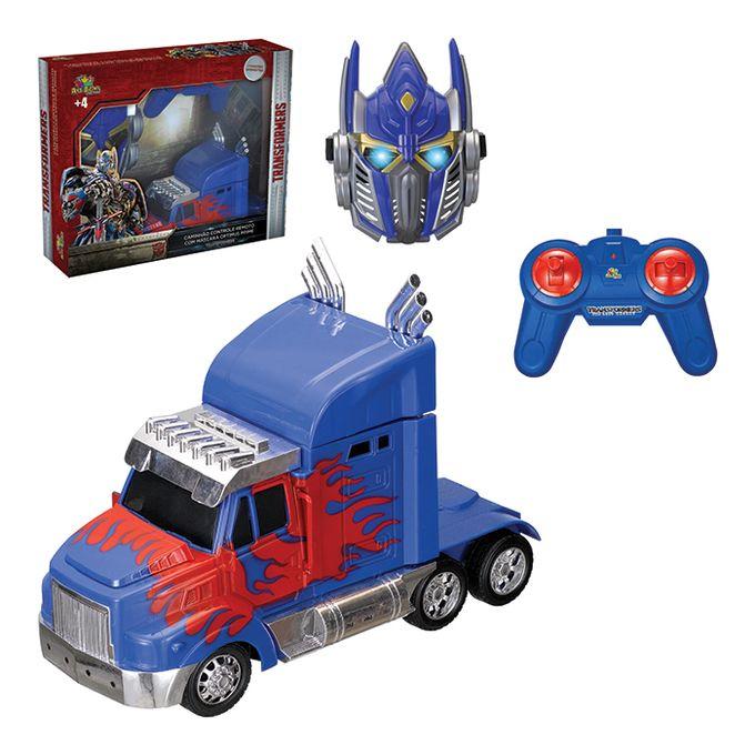 caminhao-controle-e-mascara-transformers-conteudo