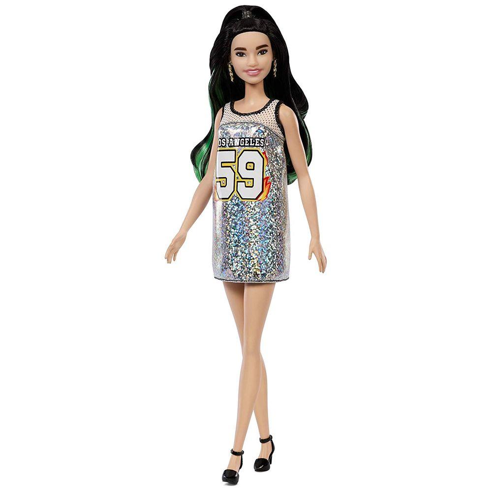 fcaca98abe Boneca Barbie Fashionistas - Vestido Prata Fxl50 - MP Brinquedos