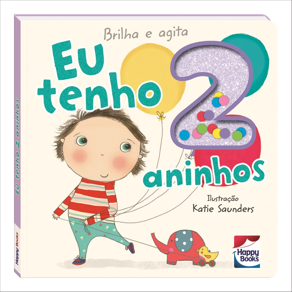 8b34157c9 Livro - Brilha e Agita - Eu Tenho 2 Aninhos - MP Brinquedos