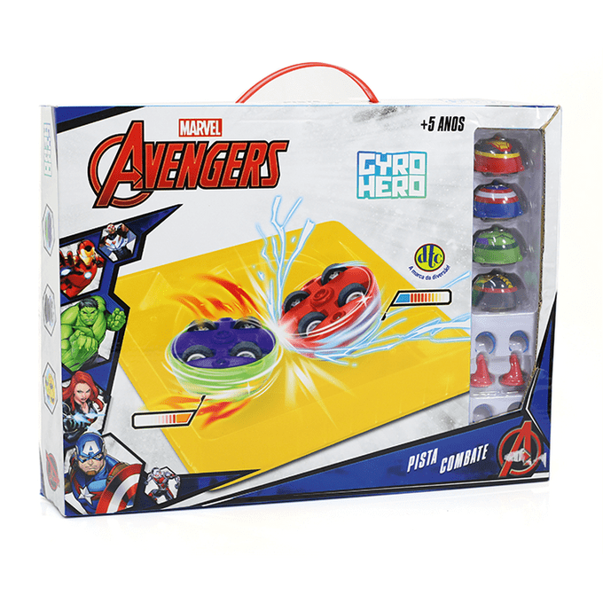 pista-combate-gyro-hero-marvel-embalagem