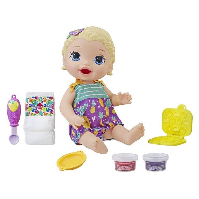 Boneca Baby Alive - Lanchinhos Diverti...