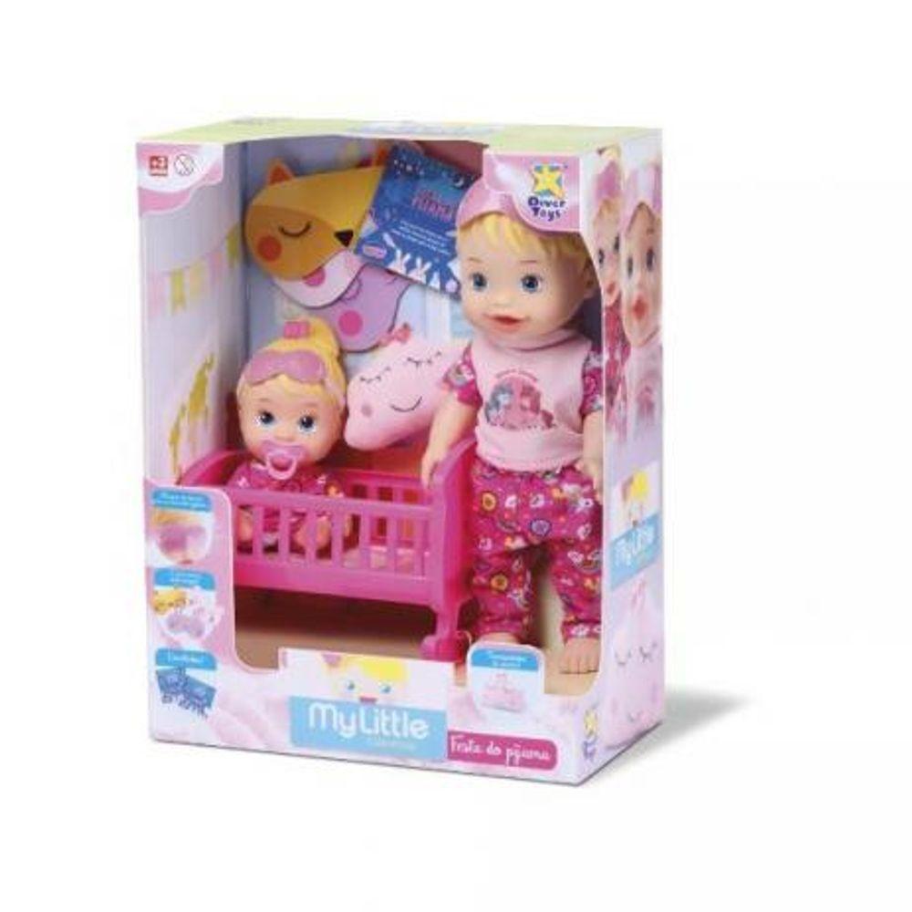 818e5fe376 Boneca My Little Collection - Brincando de Pijama - Divertoys - MP ...