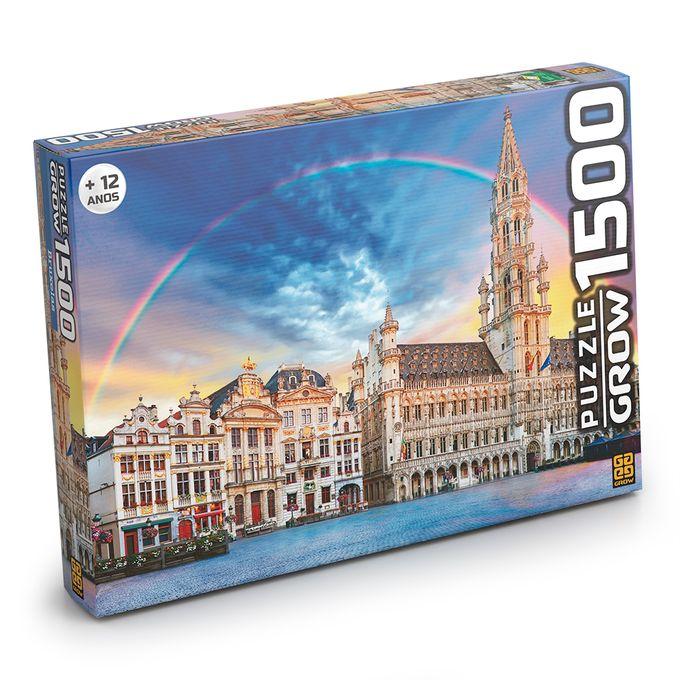Quebra-Cabeça 1500 Peças - Bruxelas -...
