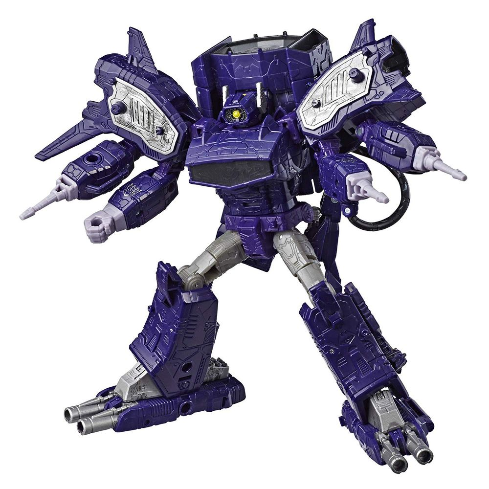 Transformers Boneco Generations Wfc Figura Líder - Shockwave