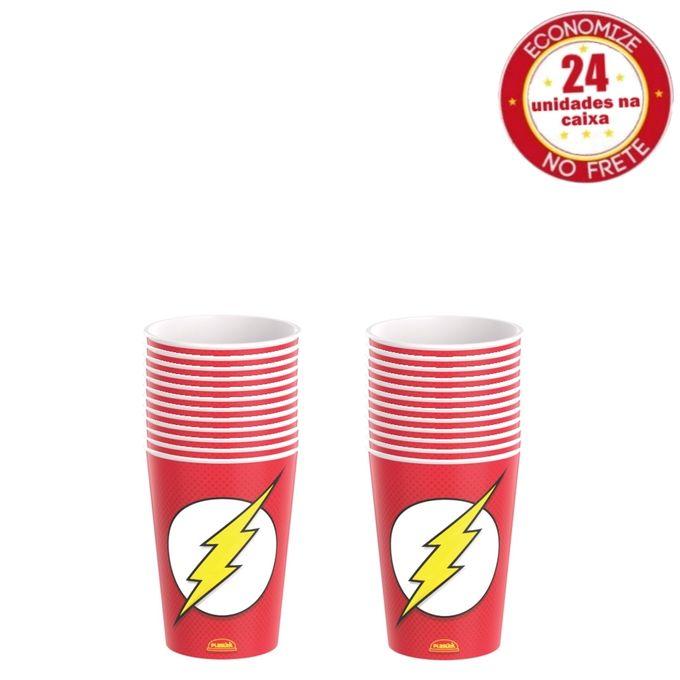 kit-copo-320ml-the-flash-conteudo