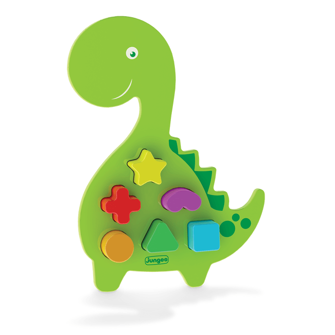 Animais Didáticos - Dino Madeira - Junges - JUNGES
