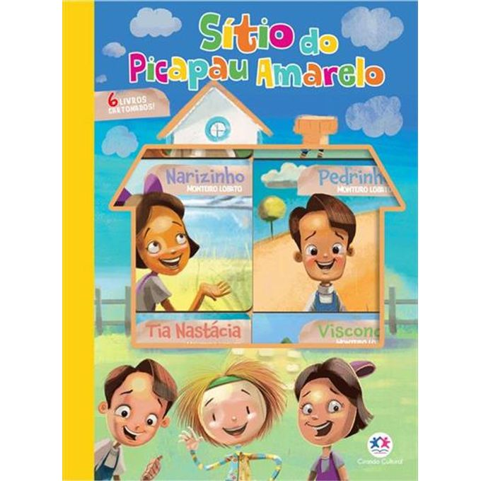 livro-sitio-com-6-mini-livros-embalagem