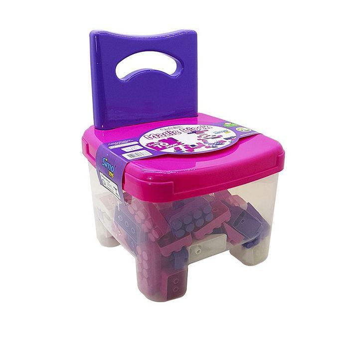 cadeira-com-70-blocos-menina-simotoys-embalagem