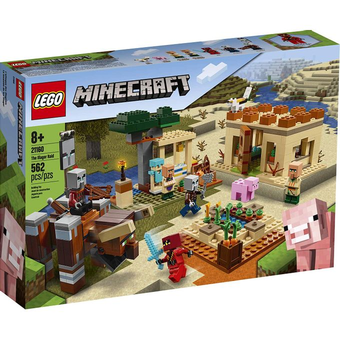 21160 Lego Minecraft - o Ataque de Ill...