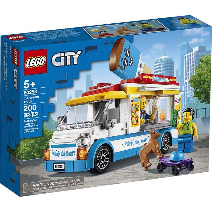60253 Lego City - Van de Sorvetes - LE...