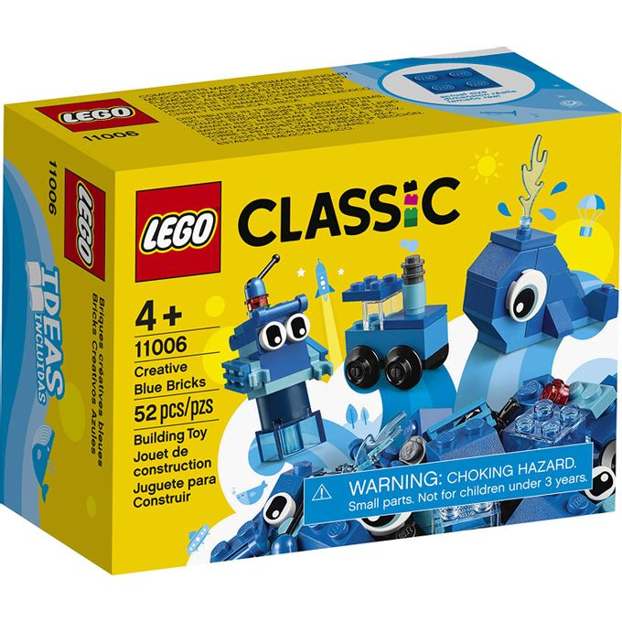 11006 Lego Classic - Peças Azuis Criat...