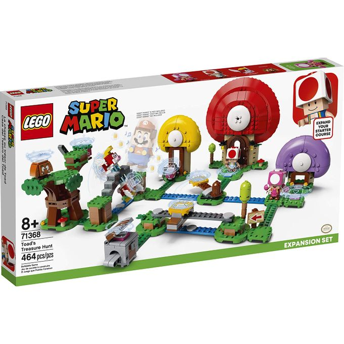 71368 Lego Super Mario - Caça Ao Tesou...