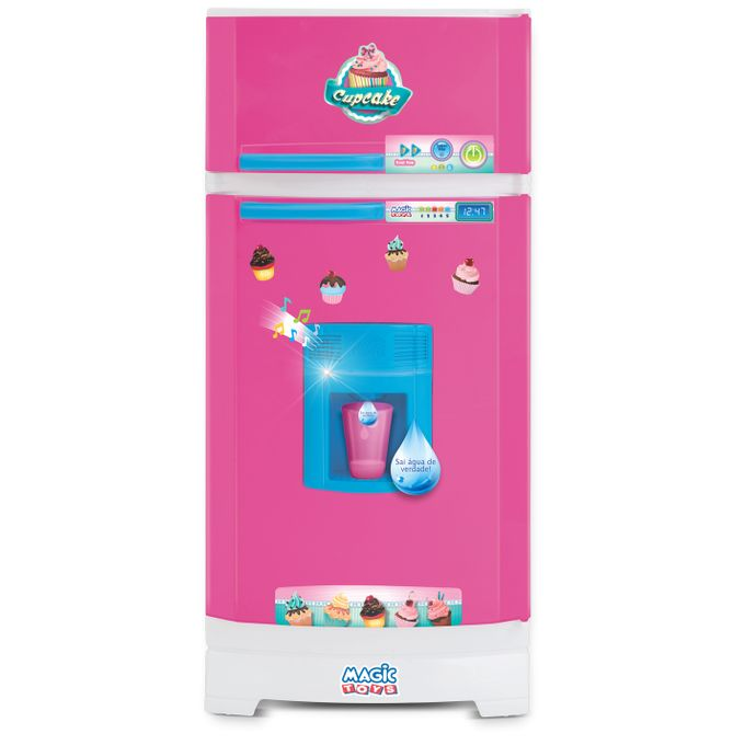 Geladeira Infantil Cupcake - Magic Toys - MAGIC TOYS