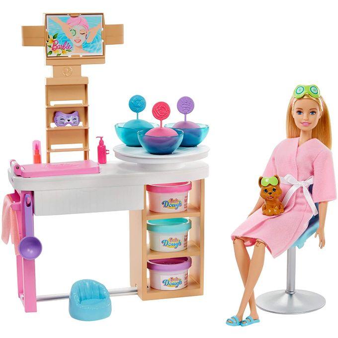 Boneca Barbie Spa de Luxo com Cachorrinho Gjr84 - MATTEL