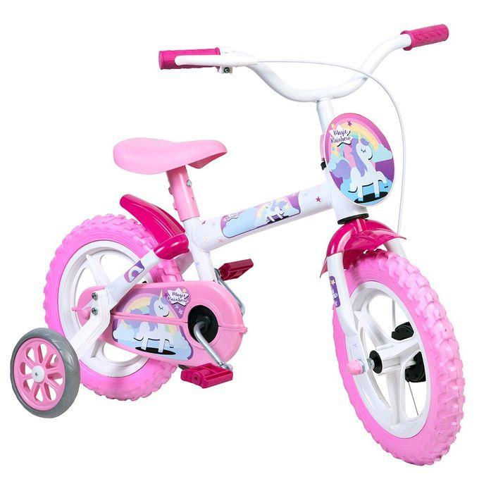 Bicicleta Aro 12 Magic Rainbow - Styll - STYLL BABY