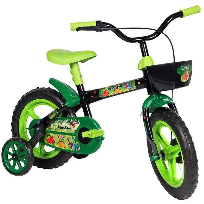 Bicicleta Aro 12 Dino - Styll - STYLL BABY