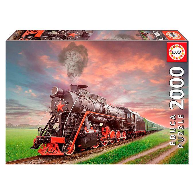 Puzzle 2000 peças Máquina a Vapor - Ed...