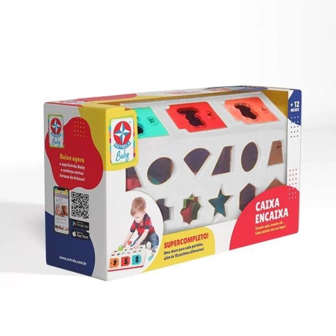 Caixa Encaixa - Estrela Baby - Coleção Pim Pam Pum - Caixa Encaixa - ESTRELA