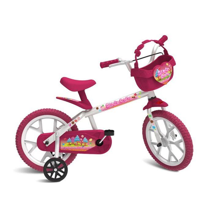 Bicicleta Aro 14 Sweet Game - Bandeira...