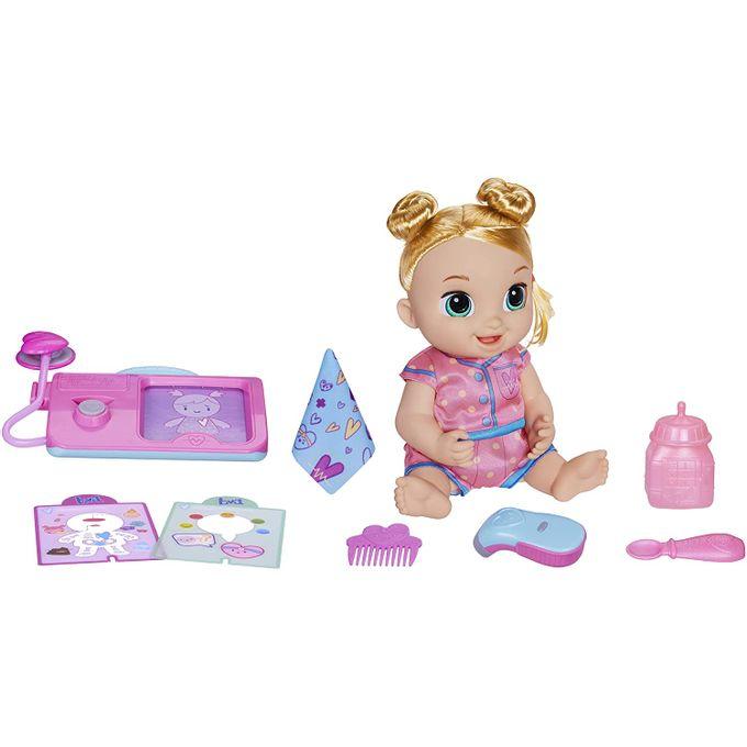 Baby Alive - Boneca Lulu Achoo - Loira...