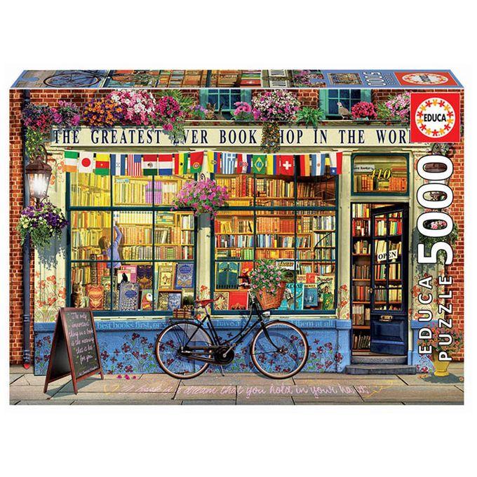 Puzzle 5000 peças A Melhor Livraria do...